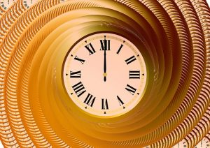 Make Time Time Clock Swirl