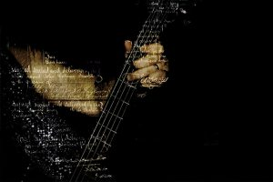 Find Your Sound Guitar Music Collage