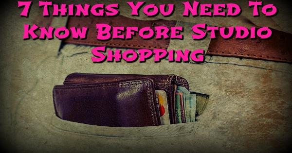 Studio Shopping Feature