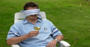 False Victim Blindfolded Man Feature