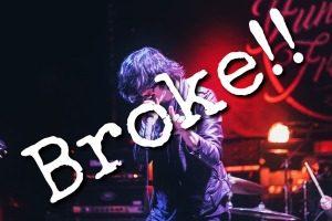 False Victim Broke Rock Star