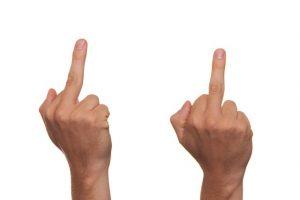 False Victim Finger