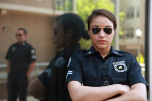 False Victim Policewoman