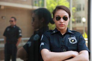 False Victim Policewoman