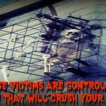 False Victim Skeleton Cage Feature MEME