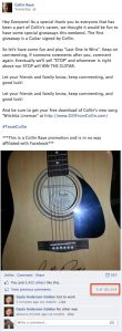 Collin Guitar Contest 100k comments