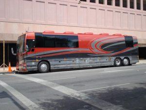 Artist Success Tour Bus