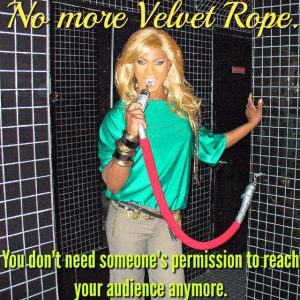 Obnoxious Marketing Velvet Rope MEME