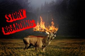 Story Branding Fire Deer MEME
