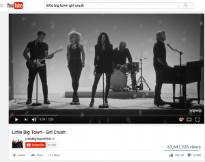 YouTube little-big-town