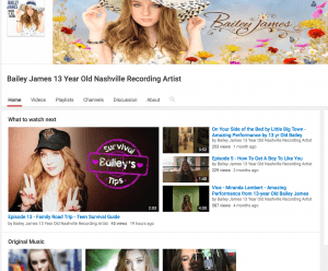 youtube-bailey-james-channel