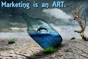 Clutter Marketing Art MEME