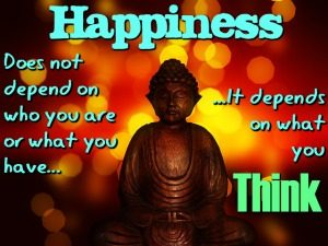 Happiness Is a Learned Skill Buddha MEME