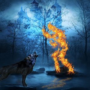 Happiness is a Learned Skill Wolf Fire