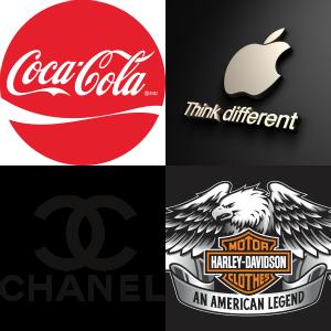 Hero Brand Logo Collage