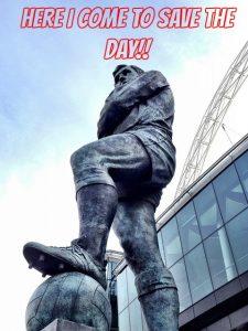 Hero statue MEME
