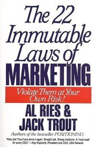 Design The 22 Immutable Laws Of Marketing