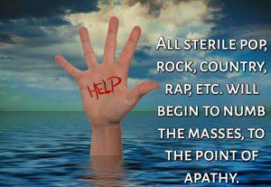Renaissance Drowning Clutter Sterile ROCK POP MEME