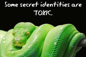 Secret Identity Snake Toxic MEME