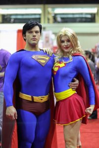 Secret Identity Superman and Supergirl