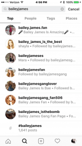 Audience Bailey Fan Accounts 1