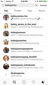 Audience Bailey Fan Accounts 1