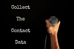 Audience Collect The Contact Data