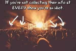 Audience Collecting at Live Shows MEME