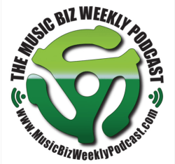 High-Resolution Music Biz Weekly Podcast Logo