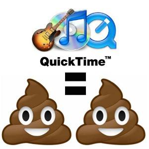 High-Resolution QuickTime Equals Poop 2