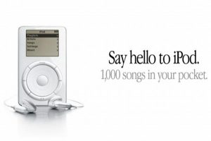 High-Resolution iPod Ad