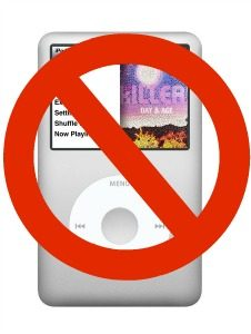 High-Resolution iPod NO MEME