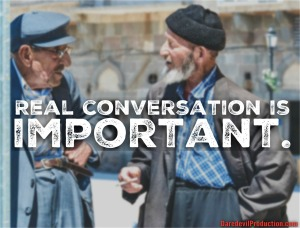 CD Real Conversation is important