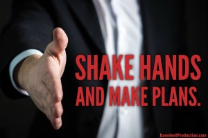 CD Shake hands and Make Plans