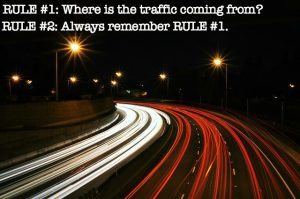Traffic Where is the Traffic Coming From MEME