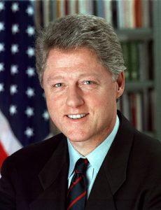 Frustrated Bill Clinton