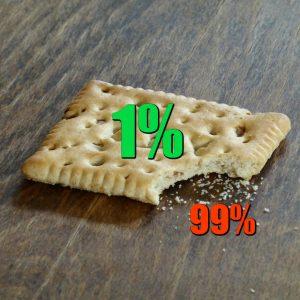 Frustrated Crumbs 1% MEME