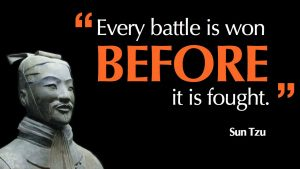 Frustrated Sun Tzu Quote