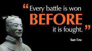 Frustrated Sun Tzu Quote