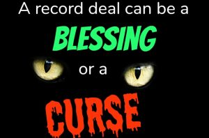 Record Deal Blessing Curse MEME