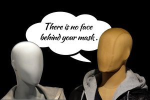 Networking Authenticity Faceless Mask