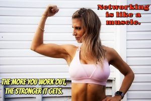 Networking Muscle MEME
