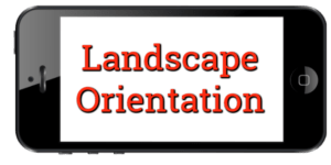 CD Baby Landscape Orientation