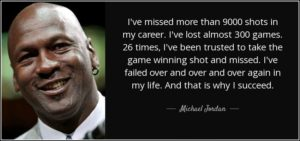 Success MJ Quote