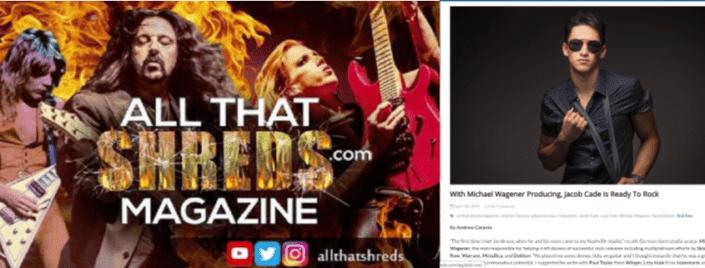 All That Shreds Magazine interviews Jacob Cade