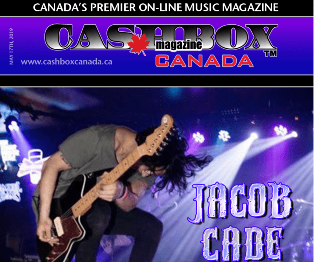 Cashbox Canada Interviews Jacob Cade about his new project The BRKN